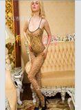 全球特供厂家情趣丝袜批发火爆款时尚性感豹纹情趣丝袜连体内衣