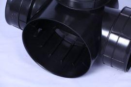 厂家供应塑料检查井,PE材质塑料直通检查井,排水