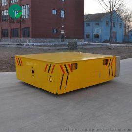 蓄電池供電式地平車鋁貨倉儲車膠輪無軌車
