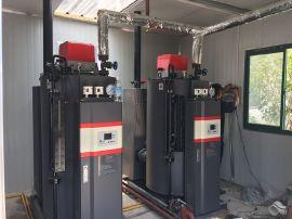 上海三香食品有限公司用燃油蒸汽锅炉 250kg全自动燃油蒸汽锅炉