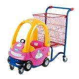凌晔超市儿童购物车双层置物童趣车手推迷你车趣味儿童玩具购物车