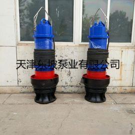 电站排水用潜水轴流泵