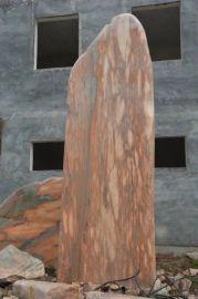 景观石 晚霞红 园林石自然石特点