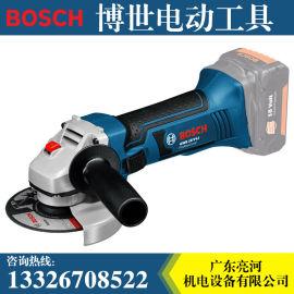 博世电动工具GWS18V-Li充电式角磨机100 125mm切割机打磨机磨光机