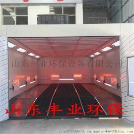 汽车维修保养设备 红外线电加热汽车烤漆房 喷烤一体