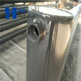 大型光排管散热器钢制光面管暖气片养殖温室用散热片