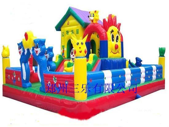 动物乐园充气城堡