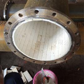 粘贴陶瓷片耐磨管 煤粉管道用陶瓷贴片耐磨弯头