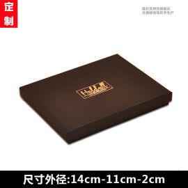 天地盖黑色礼品盒 烫金高档包装盒 纸质通用盒子