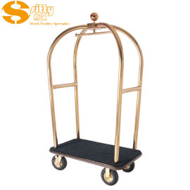 SITTY斯迪91.2021S不鏽鋼手推行李車