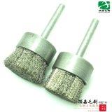 广州毛刷PG28直径25mm毛刷 不锈钢丝毛刷