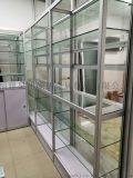 石狮展示柜玻璃精品展柜服装鞋材陈列柜样品展柜