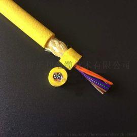 **机器人电缆2芯28AW防水耐用水下作业电缆直销