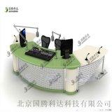 厂家制造电视台新闻桌 访谈桌 演播桌