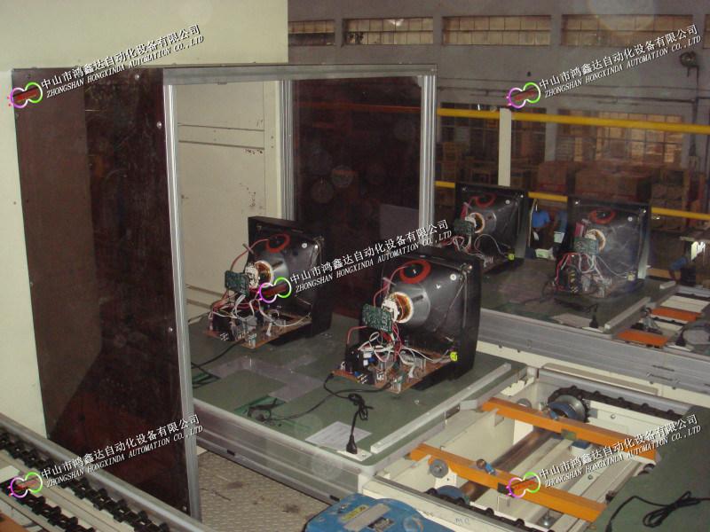 廣東機頂盒老化測試生產線,佛山電視機環形裝配線
