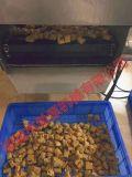 小型鸡块油炸机 鸡块上浆裹糠油炸成套设备