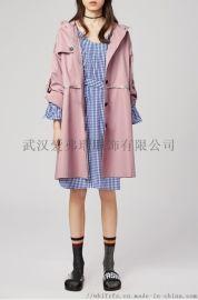 广州服装进货在哪里【现货】兰丝绘中长款时尚风衣