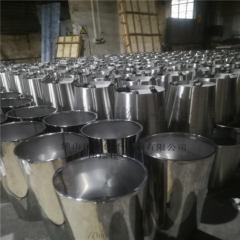 园林创意不锈钢花盆花钵定制加工