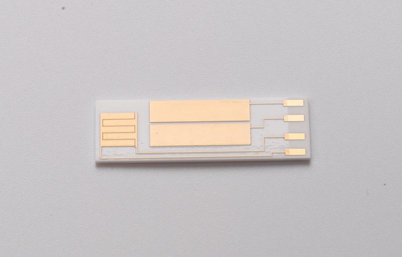 陶瓷pcb板 dpc工艺陶瓷电路板 氮化铝陶瓷镀金