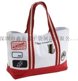 深圳工廠生産供應帆布棉布手提袋