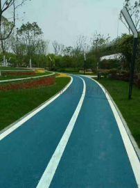 承接彩色改性沥青道路施工 广东路彩沥青