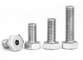 304不锈钢外六角空心螺丝 中空螺栓 通孔螺钉
