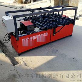 新型方木齐头断料机 可调式双端齐边锯