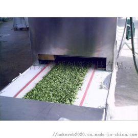 科尔新品微波香葱、甘蓝等蔬菜干燥杀菌机