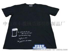 廠家直供廣告純棉印花運動T恤 文化衫