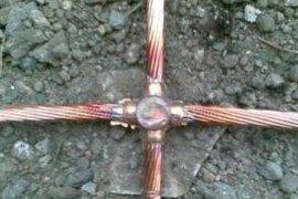 14.2mm铜包钢接地棒,95平方镀铜钢绞线