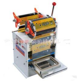 半自动封口机周黑鸭锁鲜盒封口机 卤味封口机