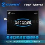 千视-支持RTMP协议SDI高清视频解码器