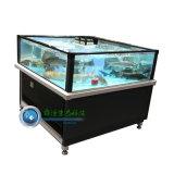 海鲜池暂养池超市鱼缸可移动式鱼池虾蟹池开放式可定制