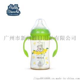 廠家直銷 新生兒防脹氣寬口PPSU奶瓶