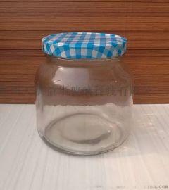厂家直销玻璃酱菜瓶出口玻璃酱菜瓶,