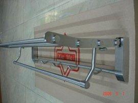 全不锈钢活动毛巾架(L24)