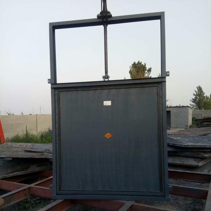 崇鵬  平面滑動鋼閘門 弧形鋼製閘門 不鏽鋼閘門