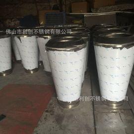 定制黑钛不锈钢花盆圆形花器摆件组合式不锈钢工艺花盆