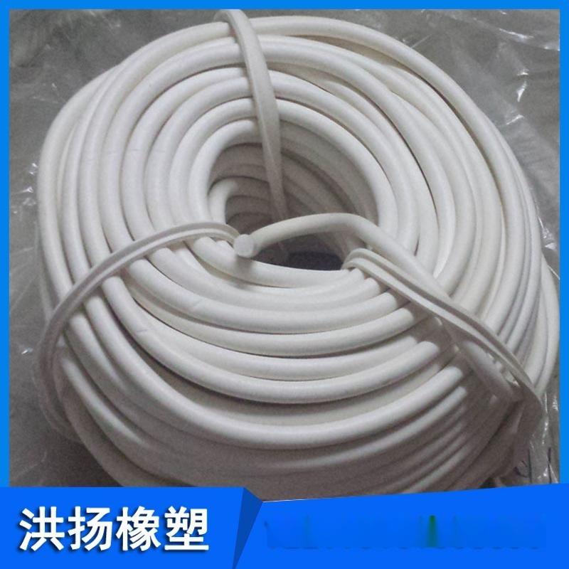 生产供应 硅胶实心胶条 耐高温硅胶密封条 工业用硅胶管