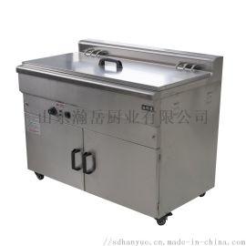 油水分离自控控温大容量炸鸡,油条等多功能电炸锅