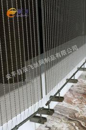 幕墙不锈钢装饰网 不锈钢丝编织金属装饰网