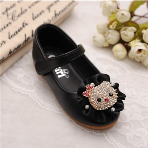 品牌童鞋新款广州外贸公主鞋 乖乖女孩春秋童鞋 一件代发童鞋