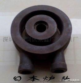 商用廚具配件5寸日式爐頭爐具雙管生鐵爐頭日本式商業爐頭