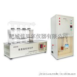 KDN-04B定氮仪测定样品中蛋白含量的定氮仪是根据凯氏原理而设计制造