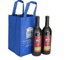 澳门高档酒包装袋,红酒包装促销袋,烟酒茶叶袋