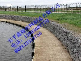 厂家供应河堤护坡雷诺护垫/格宾石笼网箱护岸
