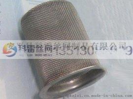 厂家定制钢丝编织筒管/圆柱形不锈钢网筒/滾焊封底过滤网筒