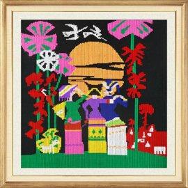 传统少数民族特色工艺品 手工织锦 西兰卡普壁挂