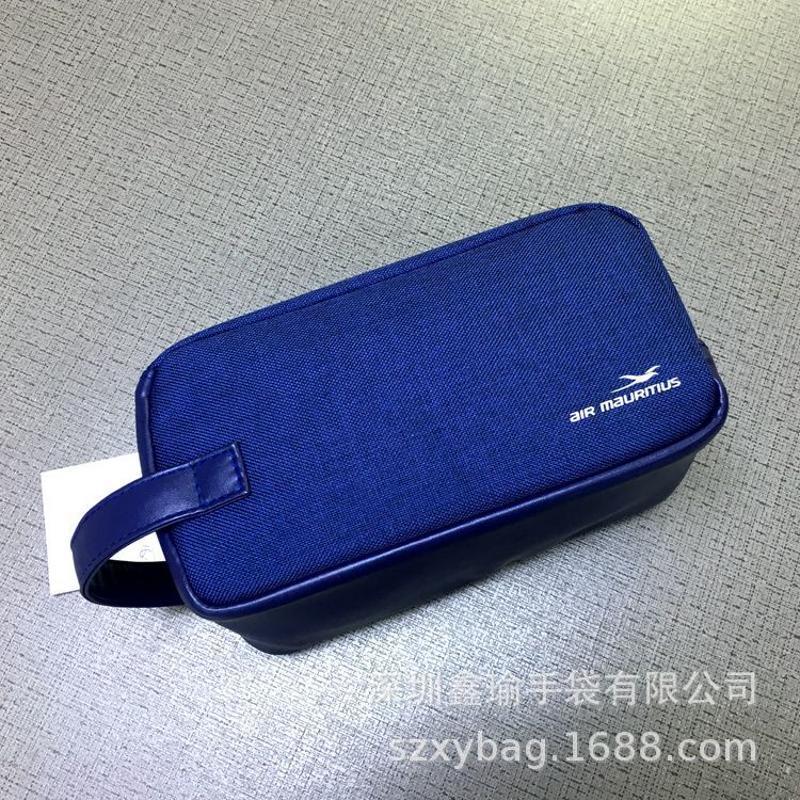 厂家供应加工定制成品便携手提化妆包多功能收纳袋出差旅行收纳包