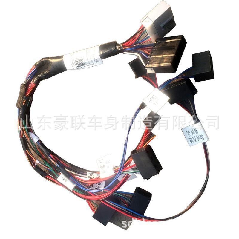 一汽解放駕駛室線束 老奧威起動機電瓶線束 發動機線束廠家 價格